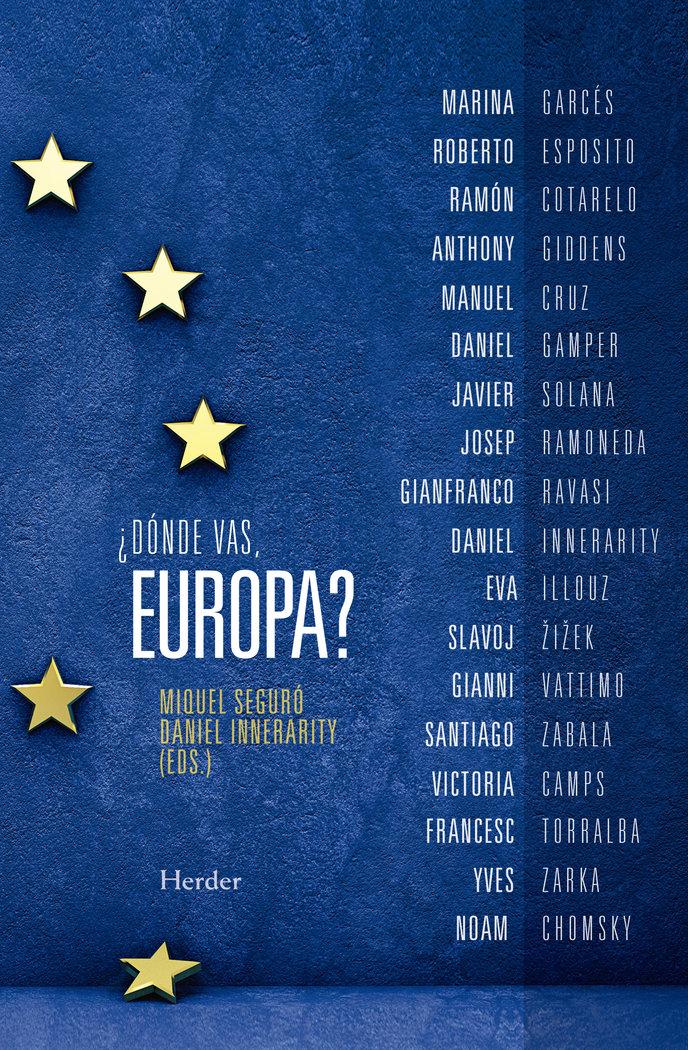 Donde vas europa