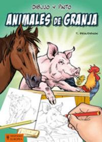 Dibujo y pinto animales de granja