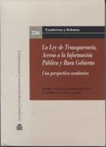 Ley de transparencia, acceso a la informacion publica y buen