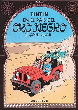 Tintin en el pais del oro negro(c)