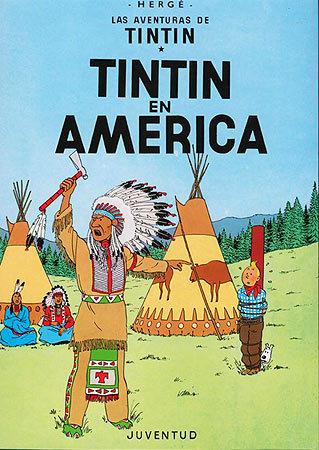 Tintin en america(c)
