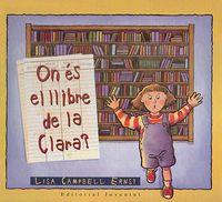 On es el llibre de clara