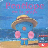 Penelope en la playa