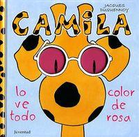 Camila lo ve todo color de rosa