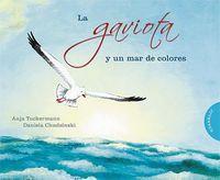 Gaviota y un mar de colores,la