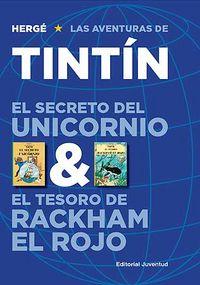 Secreto del unicornio/tesoro de rackham el rojo,el tintin