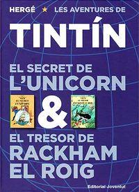 Secret de l'unicorn & el tresor de rackham el roig,el