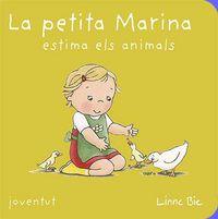 Petita marina estima els animals,la