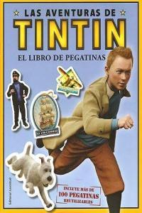 Libro de pegatinas,el aventuras de tintin