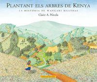 Plantant els arbres de kenya