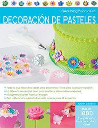 Guia fotografica decoracion de pasteles