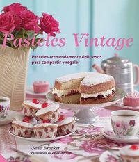 Pasteles vintage