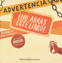 Advertencia no abras este libro
