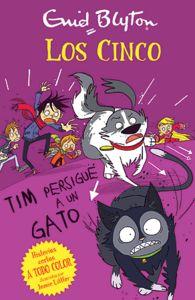 Tim persigue un gato