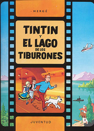 Tintin y el lago de los tiburones(c)