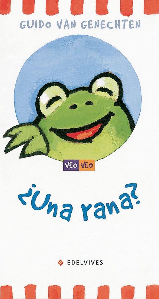 Una rana veo veo