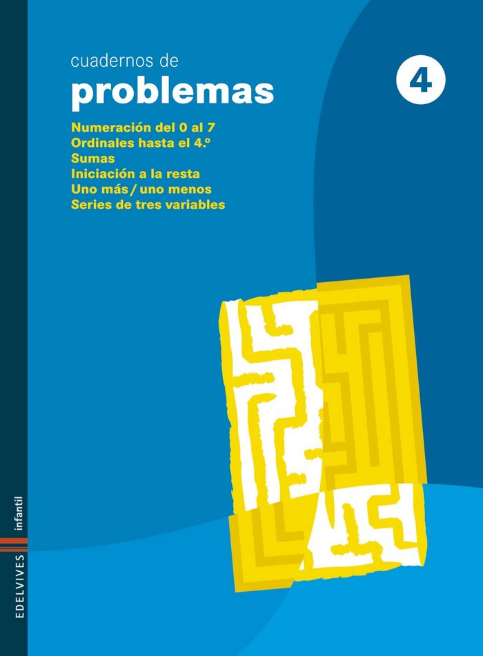 Cuaderno problemas 4 ed.infantil 09