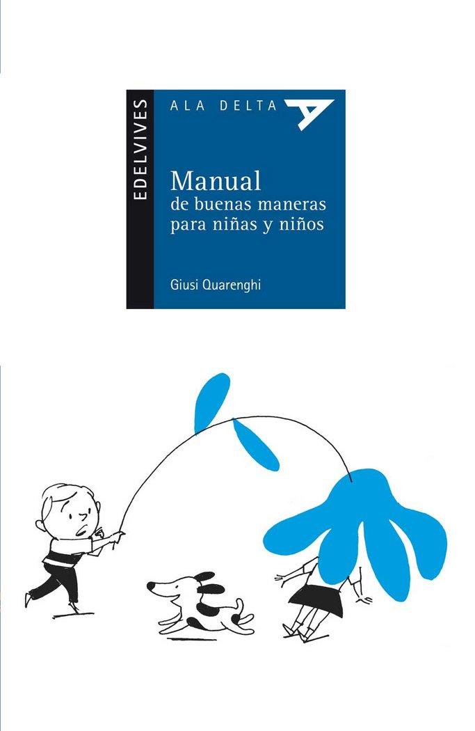 Manual buenas maneras niÑas y niÑos 75(ad.azul)