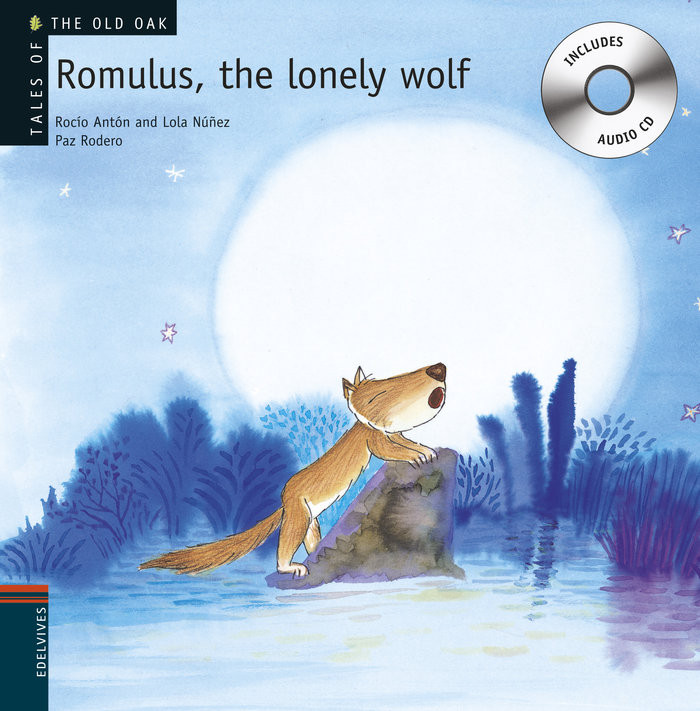 Romulus,the lonely wolf (+cd)