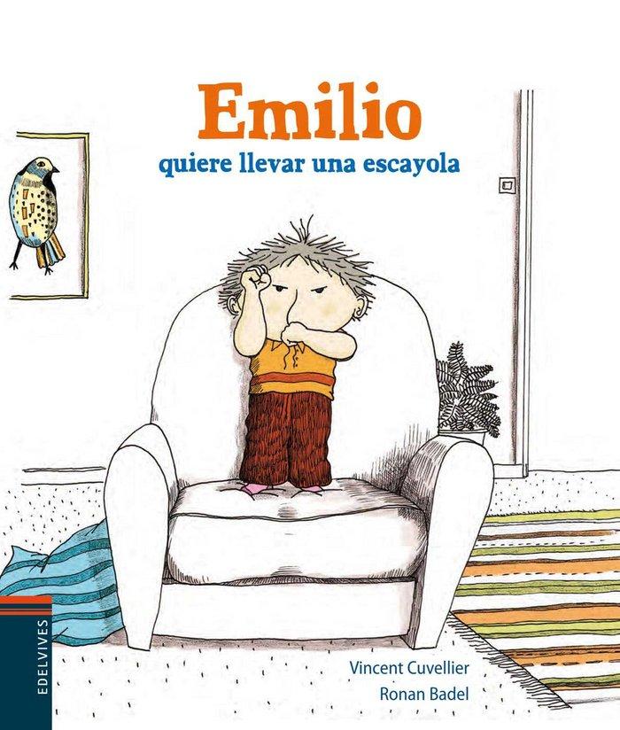 Emilio quiere llevar una escayola