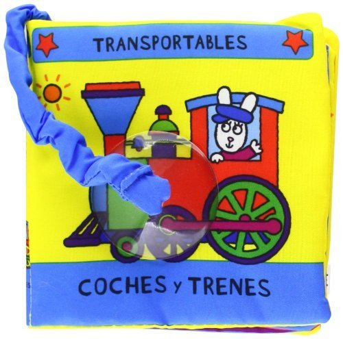 Coches y trenes (libro tela)