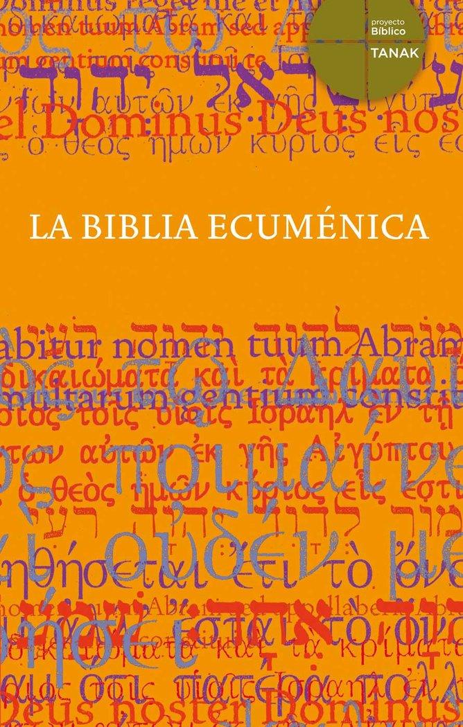 Biblia ecumenica ,la