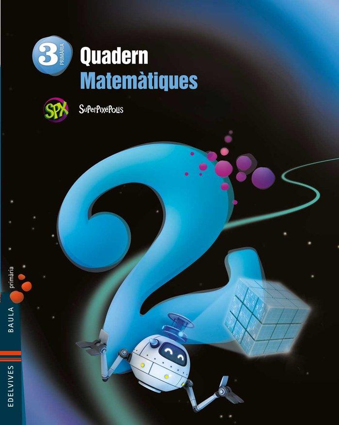 Quad.matematiques 2 3ºep val.14 superpixepolis
