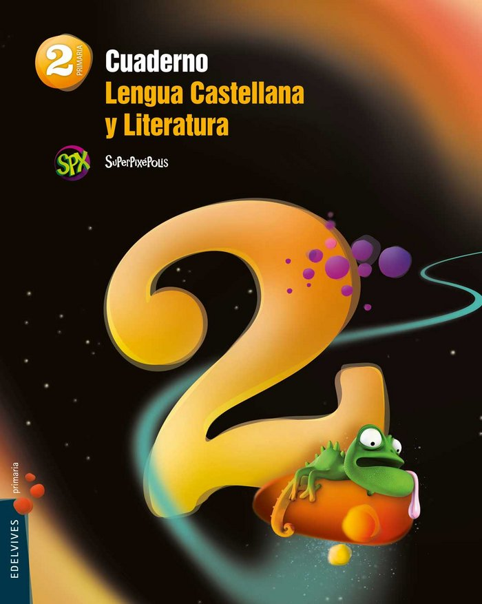 Cuaderno lengua 2 2ºep superpixepolis 15