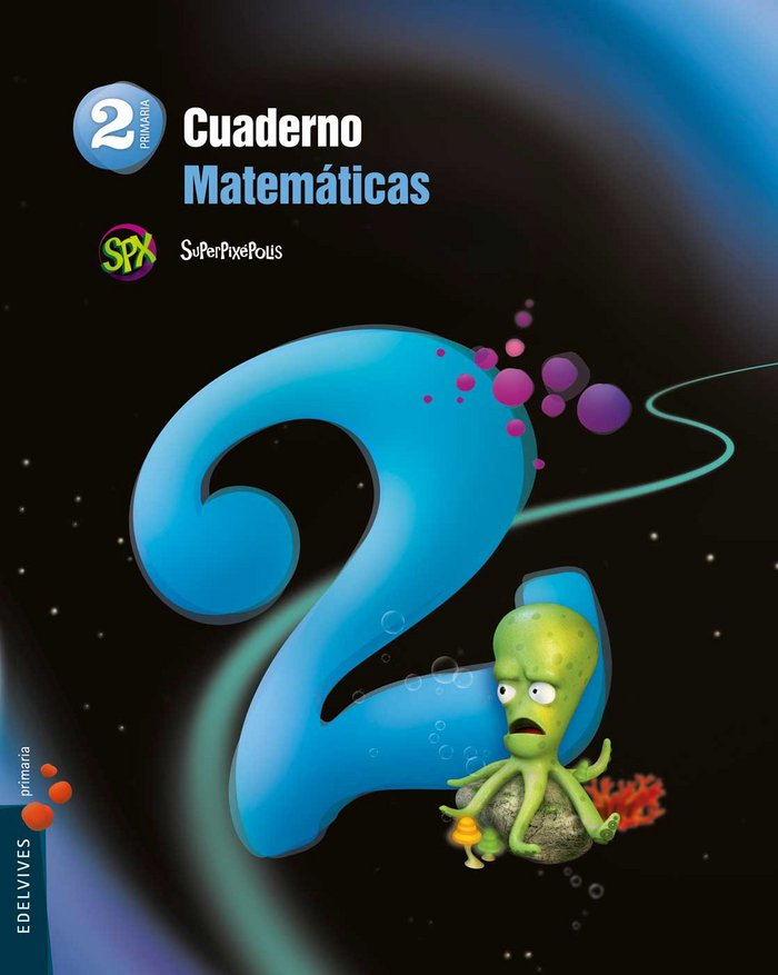 Cuaderno matematicas 2 2ºep superpixepolis 15