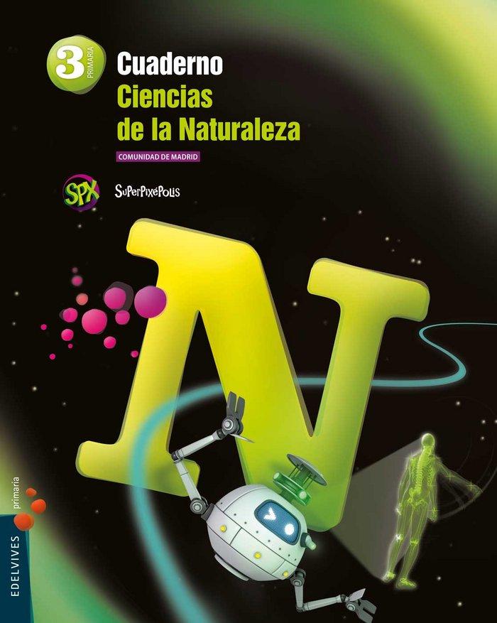 Cuaderno ciencias naturales 3ºep madrid 15 superpi