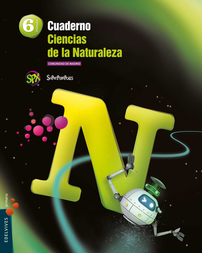 Cuaderno ciencias naturales 6ºep madrid 15 superp.