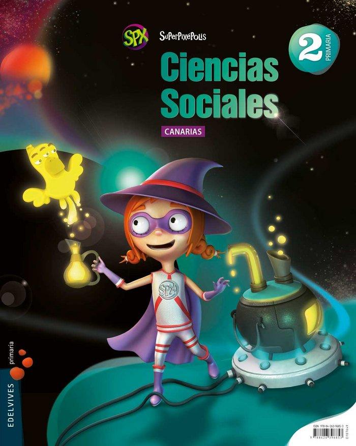Ciencias sociales 2ºep canarias 15 superpixepolis