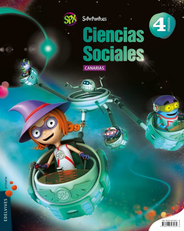 Ciencias sociales 4ºep canarias 15 superpixepolis