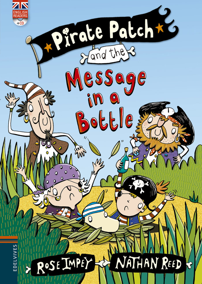 Pirate patch and the message in a bottle cd