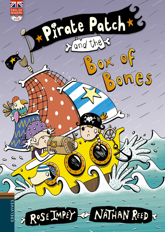 Pirate patch and the box of bones cd