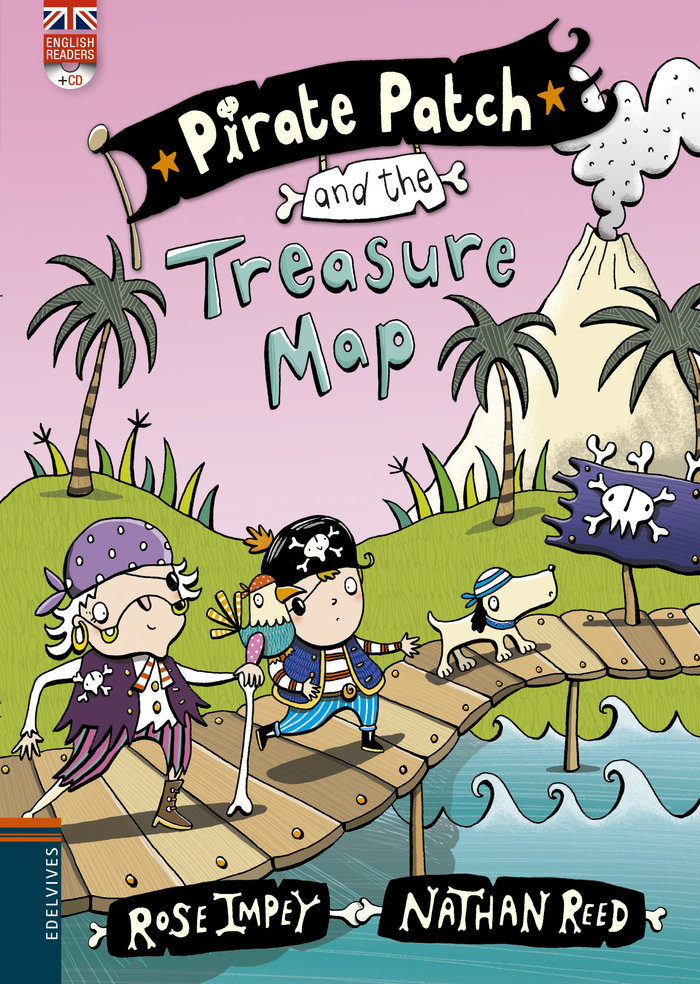 Pirate patch and the treasure map cd