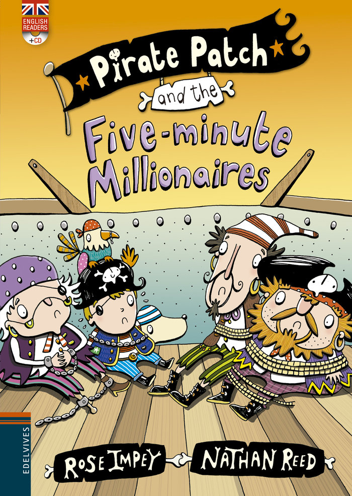 Pirate patch and the fiveminute millionaires cd