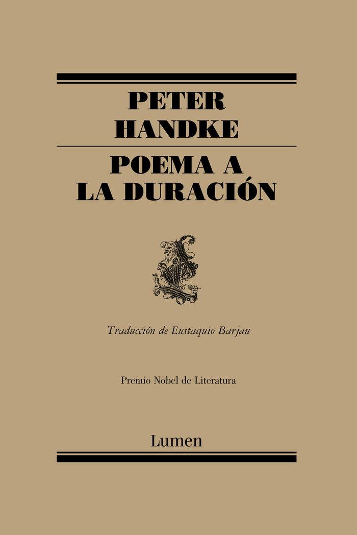 Poema a la duracion