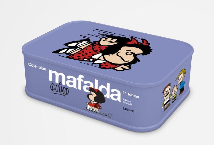Mafalda 11 tomos lata (edicion limitada)