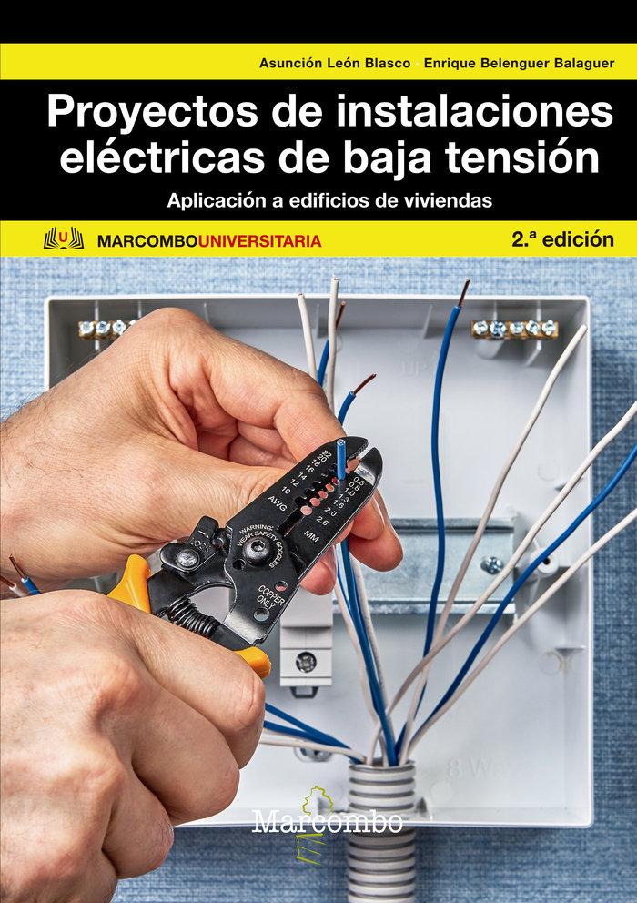 Proyectos de instalaciones electrica de baja tension