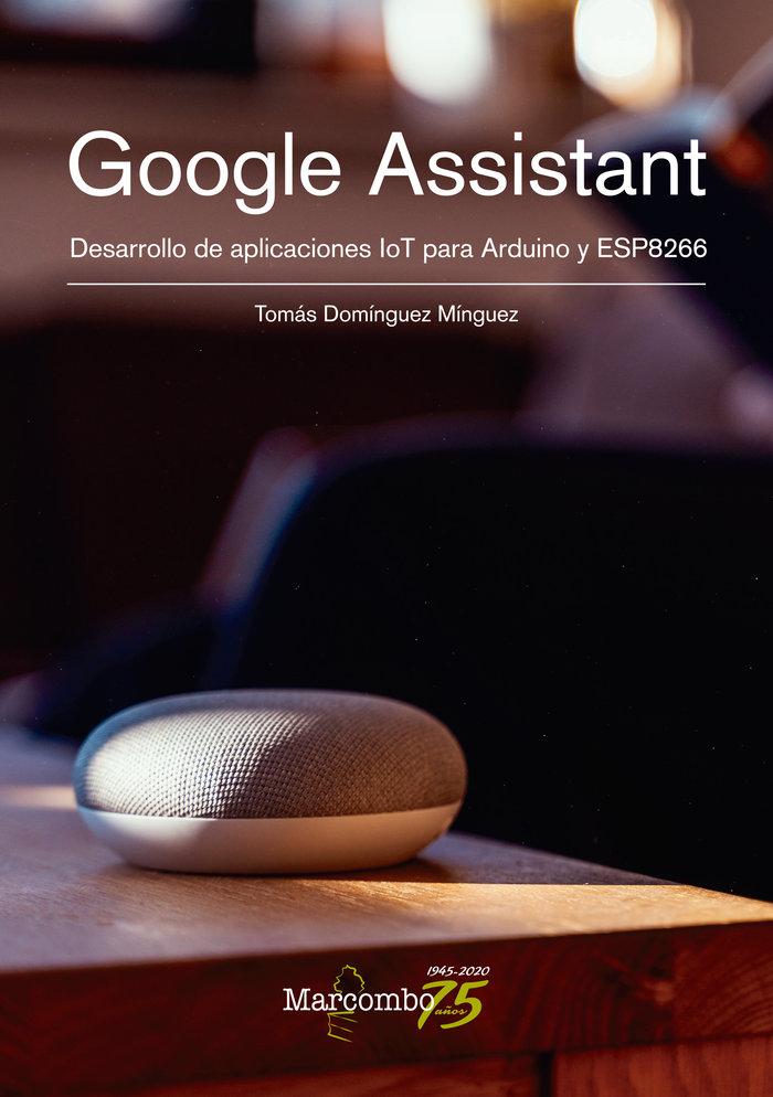 Google assistant desarrollo de aplicacion
