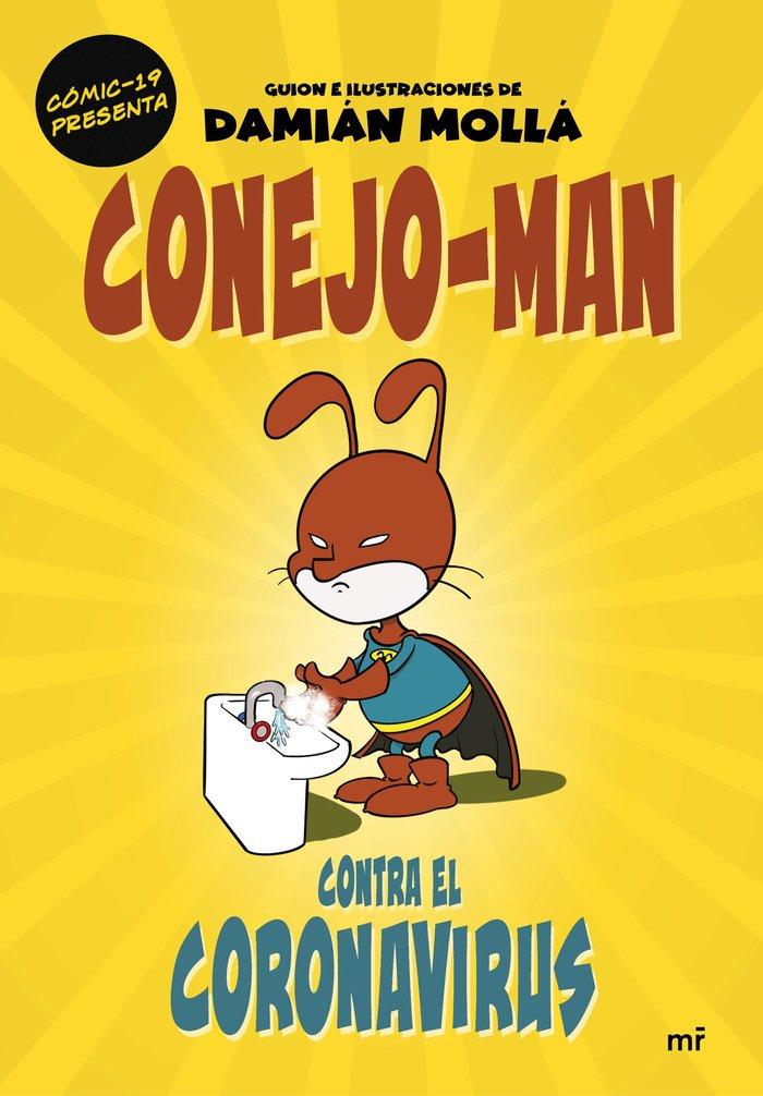 Conejo man contra el coronavirus