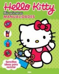 Hello kitty mis primeras manualidades