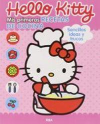 Hello kitty mis primeras recetas de cocina