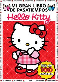 Mi gran libro de pasatiempos hello kitty