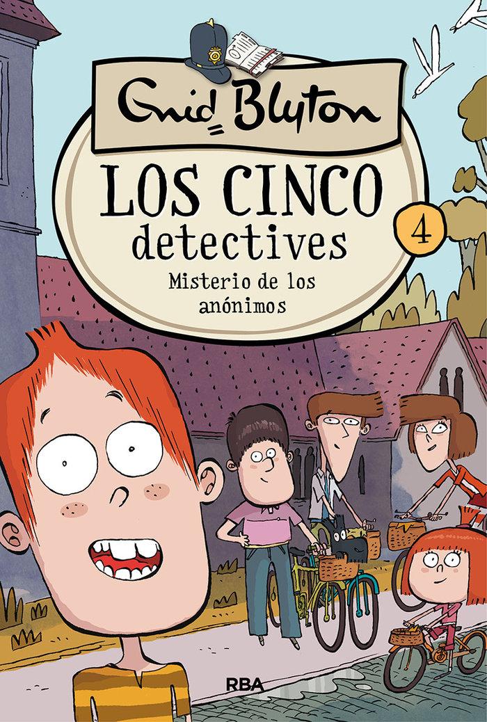 Cinco detectives 4 misterio de los anonimos,los