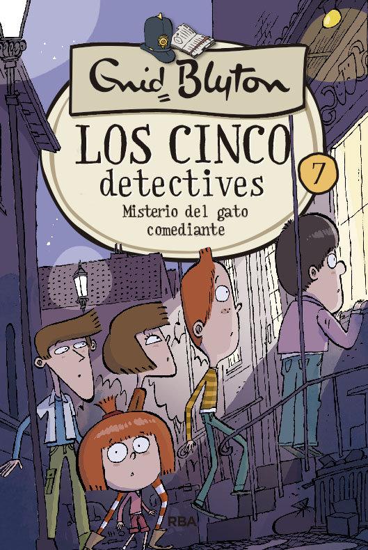 Cinco detectives 7 misterio del gato comediante