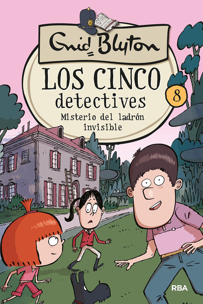 Cinco detectives 8 misterio del ladron invisible
