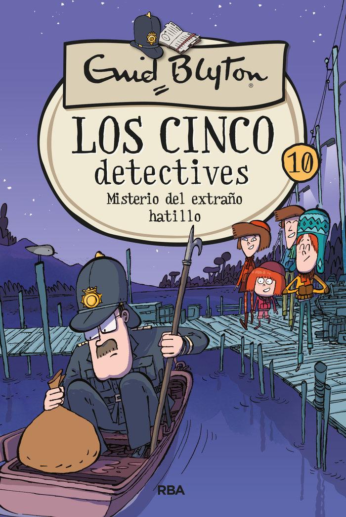 Cinco detectives 10 el misterio del extraño hatillo