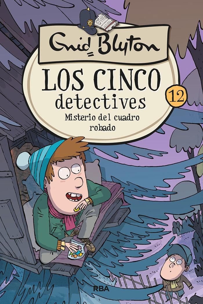 Cinco detectives 12 misterio del cuad